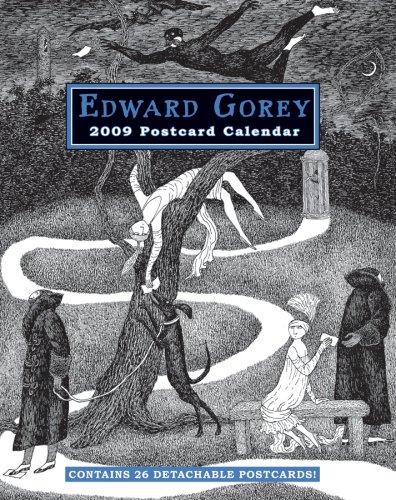 Edward Gorey 2009 Postcard Calendar: edward gorey