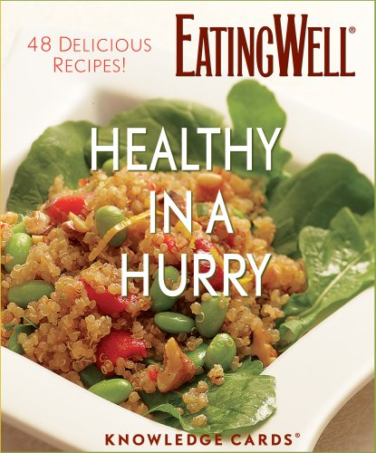 9780764944147: Healthy In A Hurry: 48 Delicious Recipes! Knowledge Cards Deck