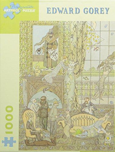 9780764945458: Edward Gorey - Frawgge Mftg. Co.: 1,000 Piece Puzzle (Pomegranate Artpiece Puzzle)