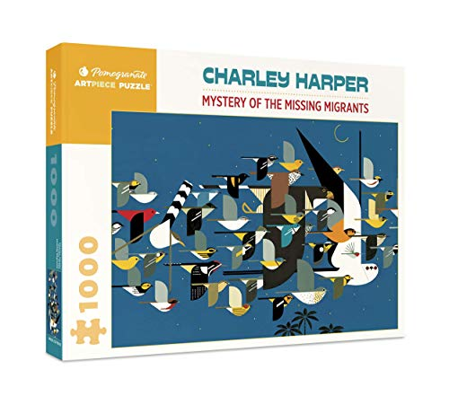 9780764945465: Charley Harper - Mystery of the Missing Migrants: 1,000 Piece Puzzle