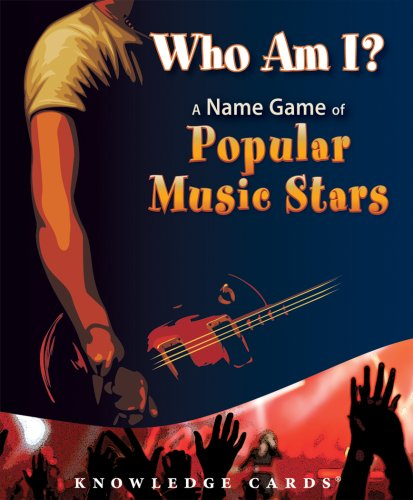 9780764945885: Who Am I? A Name Game of Popular Music Stars Knowledge Cards Deck