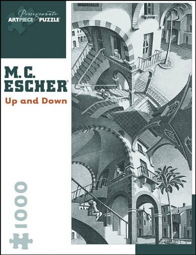 9780764946424: M. C. Escher: Up and Down (Pomegranate Artpiece Puzzle)