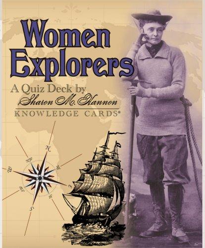 Women Explorers Knowledge Cards Quiz Deck (0764946757) by Sharon M. Hannon