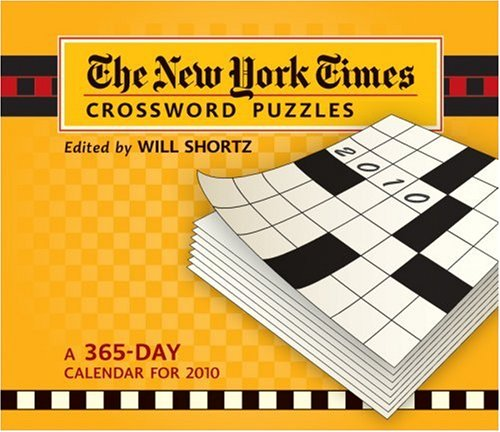 The New York Times Crossword Puzzles: A 365-Day Calendar