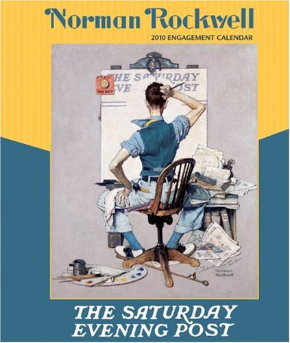9780764947681: Norman Rockwell 2010 Calendar: The Saturday Evening Post