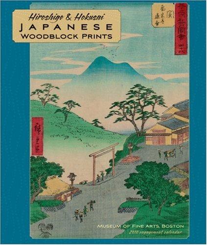 9780764948213: Hiroshige & Hokusui Japanese Woodblock Prints 2010 Calendar
