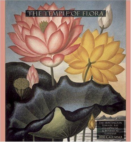 9780764948411: The Temple of Flora 2010 Calendar
