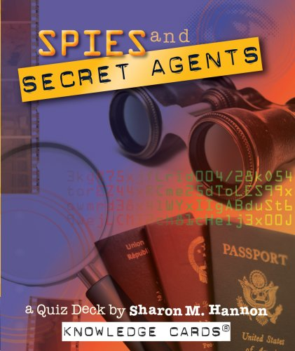Spies and Secret Agents Knowledge Cards Quiz Deck (0764948482) by Sharon M. Hannon