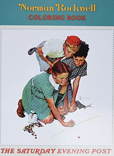 9780764950216: Norman Rockwell Coloring Book