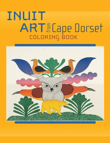 9780764950223: Inuit Art from Cape Dorset Coloring Book