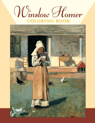 9780764950261: Winslow Homer Coloring Book