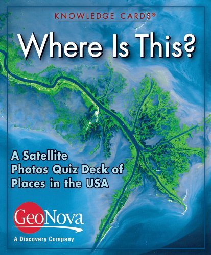 9780764950490: Where Is This? A Satellite Photos Knowledge Cards Quiz Deck of Places in the USA