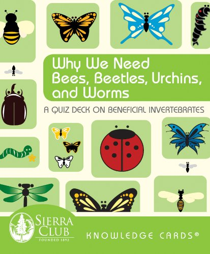 9780764950766: Why We Need Bees, Beetles, Urchins, and Worms: A Knowledge Cards Quiz Deck on Beneficial Invertebrates