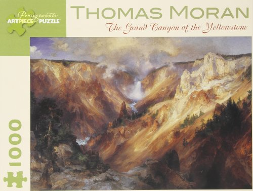 9780764950858: Thomas Moran - the Grand Canyon of the Yellowstone: 1,000 Piece Puzzle
