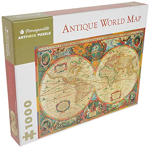 9780764950902: Antique World Map (Pomegranate Artpiece Puzzle)