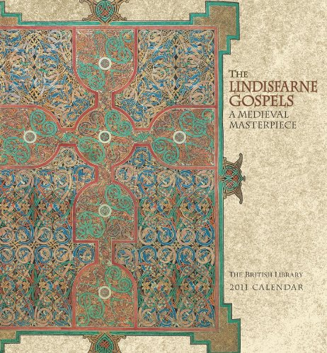 9780764952388: The Lindisfarne Gospels: A Medieval Masterpiece 2011 Wall Calendar