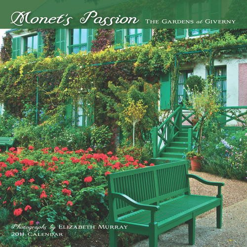 Monet's Passion: The Gardens at Giverny 2011 Mini Wall Calendar (0764952692) by Elizabeth Murray