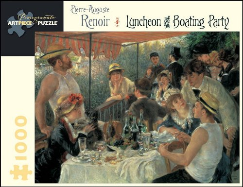 9780764953484: Pierre Auguste Renoir - Luncheon of the Boating Party: 1,000 Piece Puzzle
