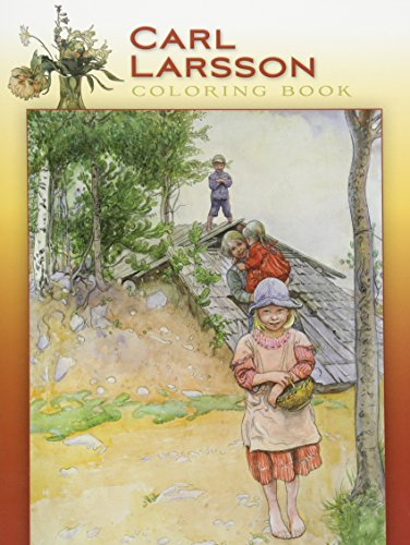 Carl Larsson Coloring Book: Pomegranate