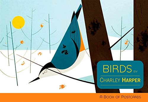 9780764953729: Charley Harper: Birds: A Book of Postcards (Books of Postcards)