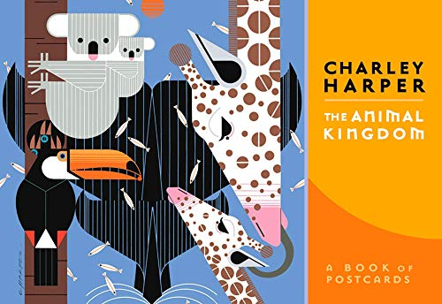 9780764953736: Charley Harper: The Animal Kingdom: A Book of Postcards (Books of Postcards)