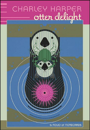 9780764953743: Charley Harper Otter Delight: A Folio of Notecards [With 10 Envelopes] (Folios of Notecards)
