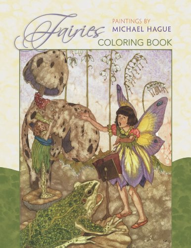 9780764953927: Fairies: Paintings by Michael Hague Coloring Book