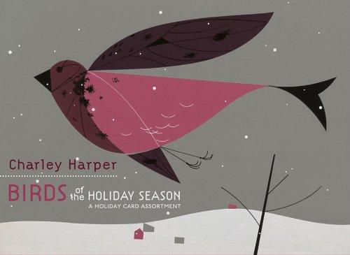 9780764954597: Charley Harper Birders Ho-Card