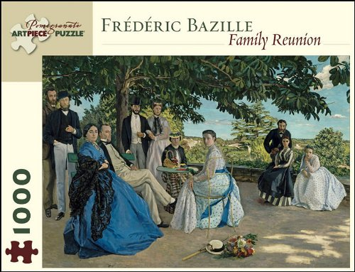 9780764954962: Frederic Bazille: Family Reunion (Pomegranate Artpiece Puzzle)