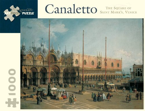 9780764955068: CANALETTO SQUARE ST MARKS