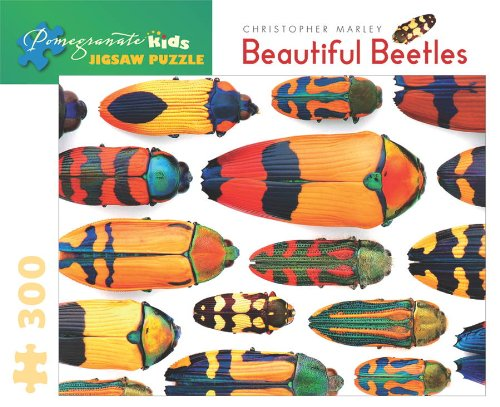 9780764955273: Beautiful Beetles 300-Piece Jigsaw Puzzle Jk004 (Pomegranate Kids Jigsaw Puzzle)