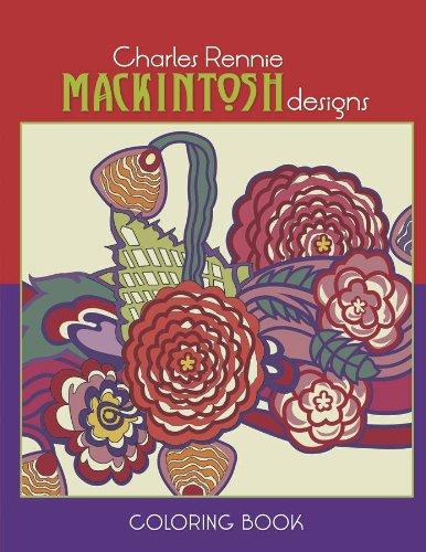 9780764955310: Charles Rennie Mackintosh Designs Coloring Book