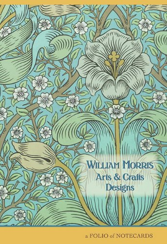 9780764956263: William Morris Arts & Crafts Designs: A Folio of Notecards