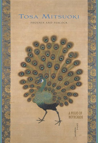 9780764956300: Tosa Mitsuoki: Phoenix and Peacock: A Folio of Notecards