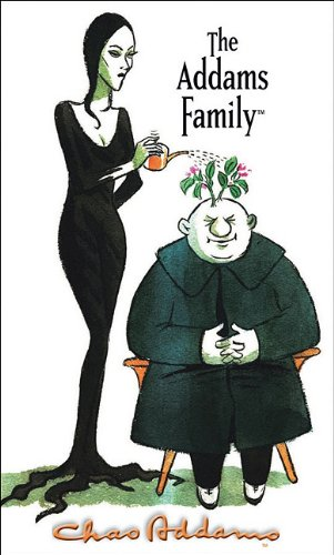9780764956362: The Addams Family: Morticia & Uncle Fester Notepad