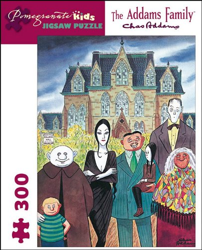 9780764956409: the Addams Family Puzzle (Pomegranate Kids Jigsaw Puzzle)