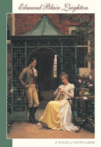 9780764956621: Edmund Blair Leighton Notecards: A Folio of Notecards