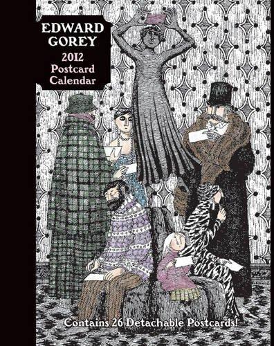 Edward Gorey 2012 Postcard Calendar: Edward Gorey