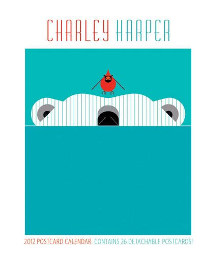 9780764957314: Charley Harper 2012 Postcard Calendar