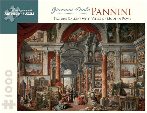 9780764957901: Picture Gallery With Views of Modern Rome: 1,000 Piece Puzzle