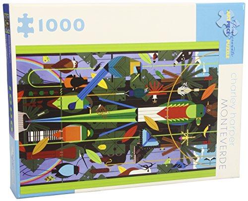 9780764958076: Monteverde 1000-Piece Jigsaw Puzzle Aa665