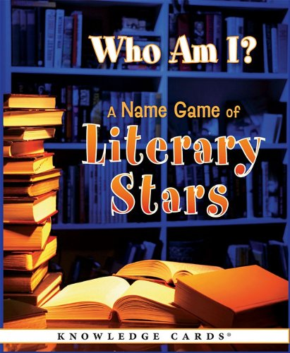 9780764958250: Who Am I? A Name Game of Literary Stars: Knowledge Cards