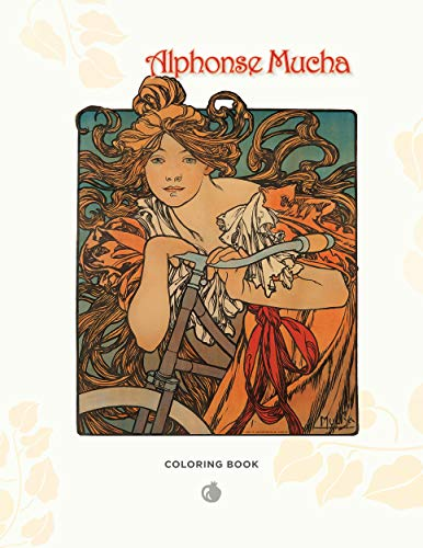 9780764958311: Alphonse Mucha (Pomeganate Colouring Book)