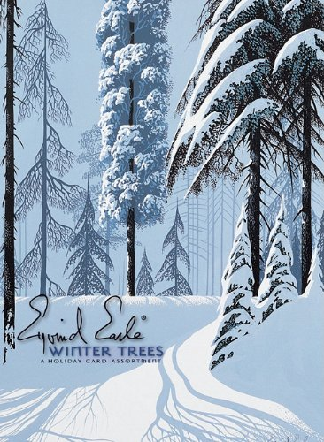 9780764959172: Eyvind Earle: Winter Trees Boxed Holiday Assortment