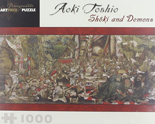 9780764959394: Toshio Shoki & Demons Jigsaw (Pomegranate Artpiece Puzzle)