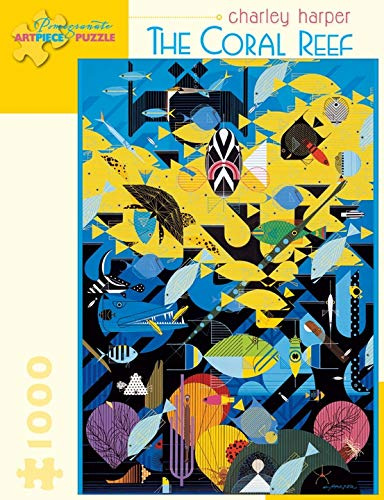 9780764959455: Charley Harper - the Coral Reef: 1,000 Piece Puzzle