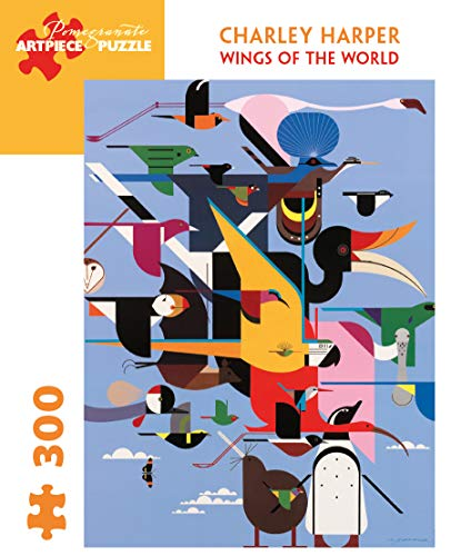 9780764959493: Charley Harper - Wings of World: 300 Piece Puzzle
