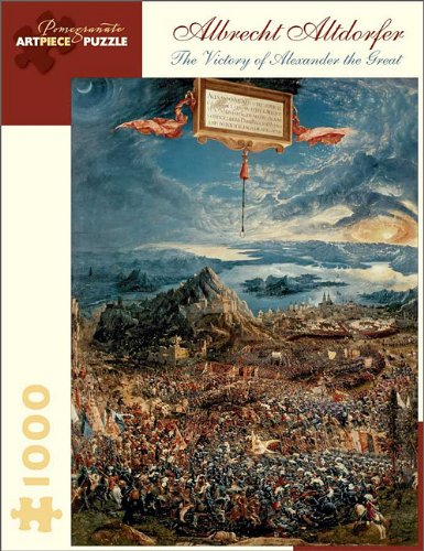 9780764959547: Victory of Alexander the Grt J (Pomegranate Artpiece Puzzle)