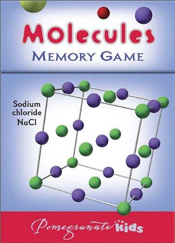 9780764959646: Molecules Memory Game