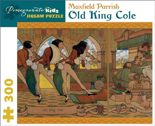 9780764959783: Maxfield Parrish - Old King Cole: 300 Piece Puzzle